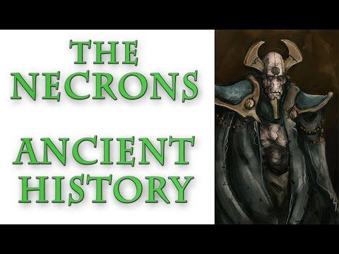 Warhammer 40k Lore - The Necrons, Ancient History