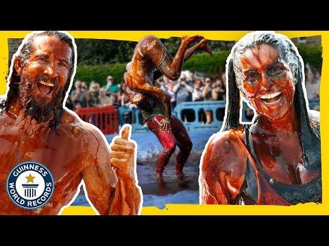 Gravy Wrestling Champions! - Guinness World Records