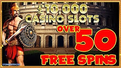 😲 OMG 50+ FREE SPINS on £10,000 Jackpot Spartacus?!!
