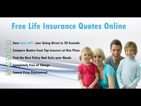 Life Insurance Quotes Online Instant Free Online Life Insurance Custom Online Life Insurance Quotes