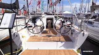2017 Dehler 38 Sailing Yacht - Deck and Interior Walkaround - 2017 Annapolis Sail Boat Show
