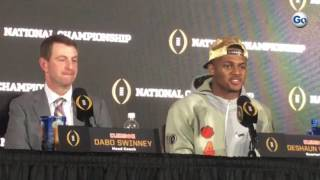 Clemson WB Deshaun Watson on last-second drive that won national championship #GateHouseCFP