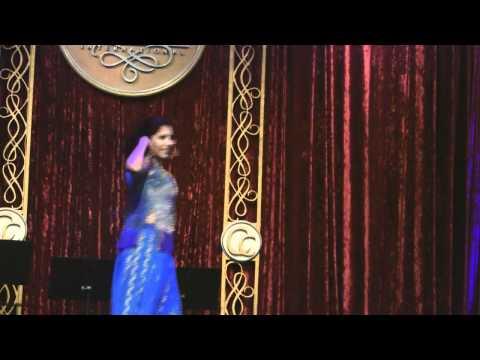 Dancer Performing at 2012 Kundirana Concert Gala and International Noble Awards