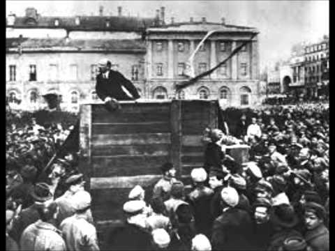 Lenin in October 1917