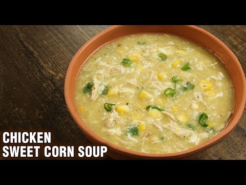 black bean and chicken soup with sweet corn