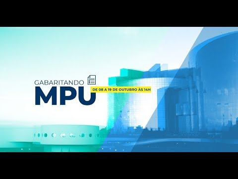 Aula Gratuita - AFO  - Semana Temática MPU - Prof. Gustavo Muzy - AO VIVO - Alfacon