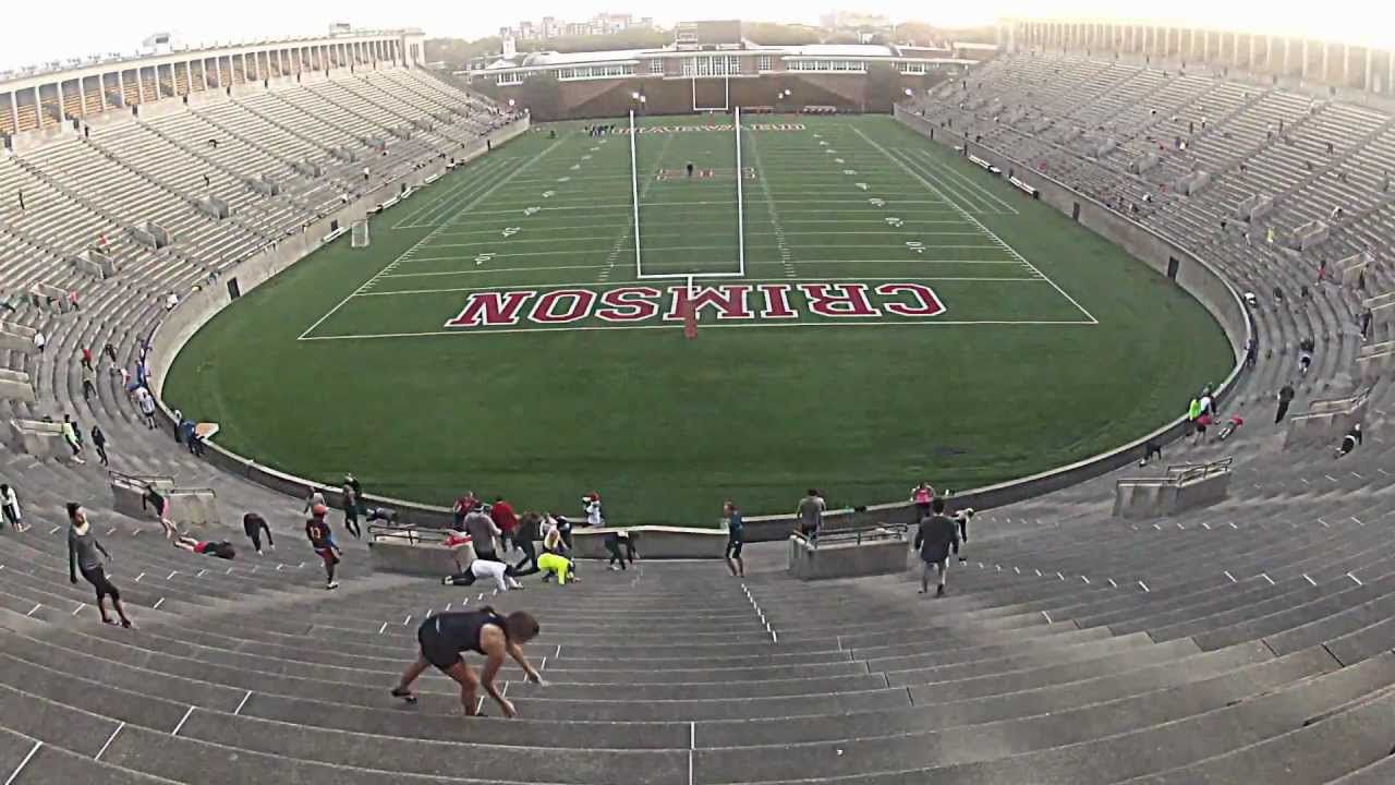 November Project Timelapse Harvard Stadium Youtube