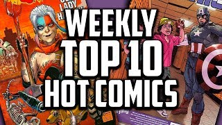 Hot Top 10 Comic Books On The Rise - NOV (Week 1) 2018, Speculation, Sales & Investing