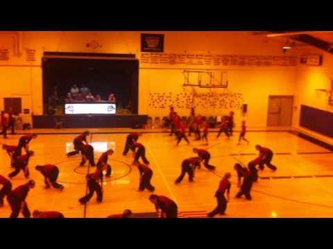 Kettle Falls High School & Middle School Dance Team Christmas Routine