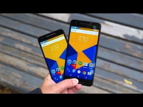 Nexus 5X vs Nexus 6P   Pocketnow