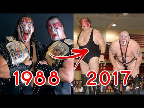 10 WWF Wrestlers Who Wrestled In The 80's STILL WRESTLING 2017!