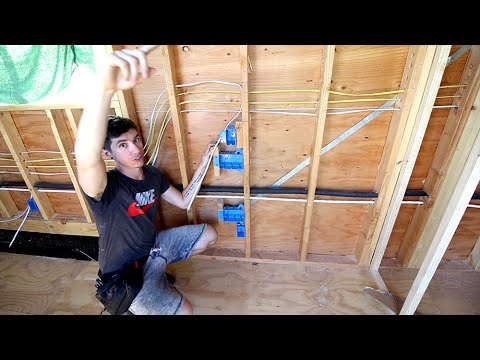 ELECTRIFYING! Tiny House Electrical Day 3