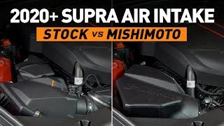homepage tile video photo for 2020+ Toyota GR Supra 3.0L Mishimoto Air Intake Sound Comparison