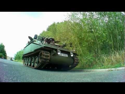 My Road Legal Restored Striker - British Army Anti Tank Missile launcher.