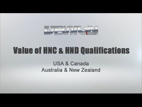 Value of HNC & HND Qualifications in USA & Canada, Australia & New Zealand