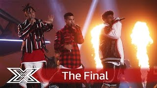 It's ya boys! 5 After Midnight belt out Beyonce's Crazy in Love  | Finals | The X Factor UK 2016