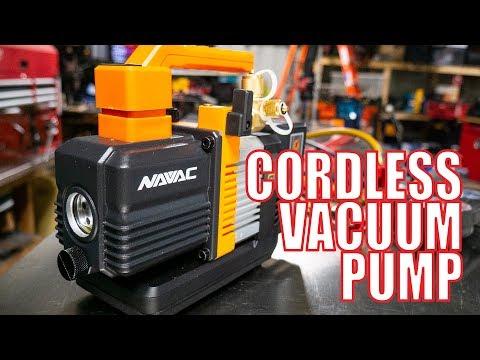 NAVAC NP2DLM Cordless Vacuum Pump