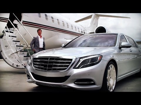 Luxury Life Series: Private Jet + The New MAYBACH