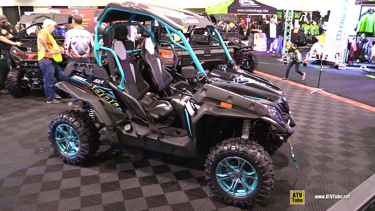 2017 cfmoto zforce 1000 side by side atv walkaround. Black Bedroom Furniture Sets. Home Design Ideas