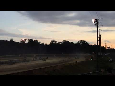 Rookie 270 micro sprint feature at Greenwood Valley Action Track