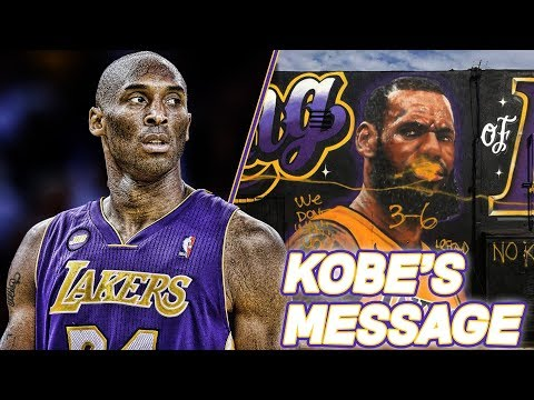 KOBE'S MESSAGE TO LAKERS FANS! | NBA News
