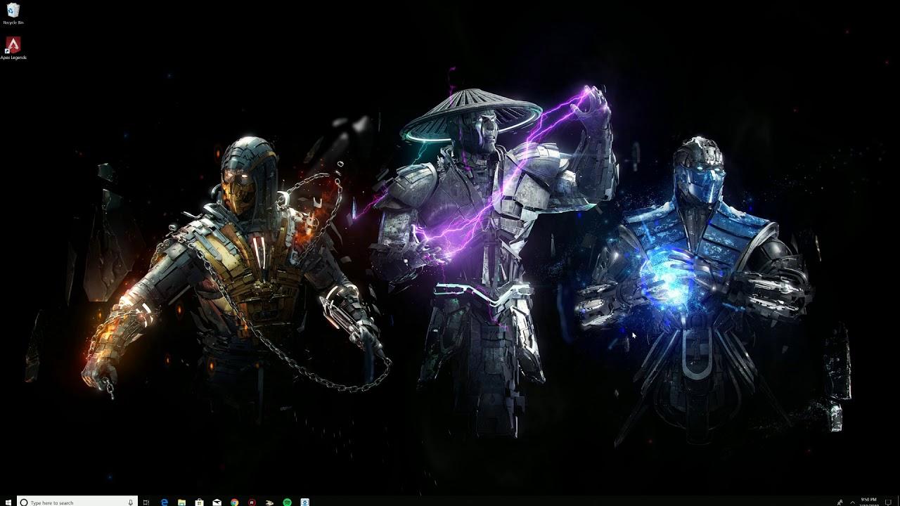 Wallpaper Engine Mortal Kombat Youtube