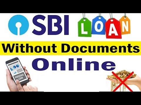 SBI Bank Personal Loan Online Without Any Documents