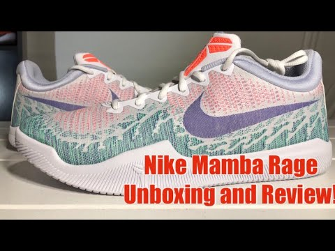ffbd43606 ... low price unboxing nike kobe mamba rage white purple mango green blue  colorway detailed review b5dc3