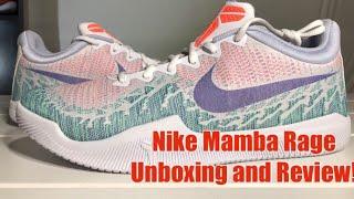 UNBOXING Nike Kobe Mamba Rage White