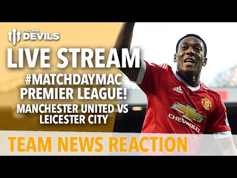 Martial Goal! Morgan Equalises! | Manchester United vs Leicester City | Premier League LIVE STREAM!