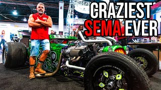 Download TOP SEMA SHOW HIGHLIGHTS OF 2019! INSANE Horsepower  CAR/TRUCK/RAT ROD BUILDS! Mp3 and Videos