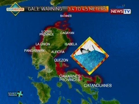 SONA: Weather update as of 9:58 p.m. (Nov. 24, 2017)