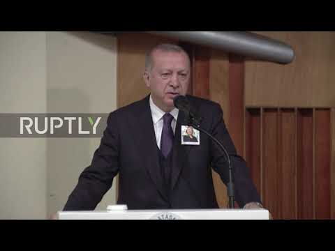 Turkey: Islamophobia now comes in 'form of slaughter' - Erdogan on NZ attack