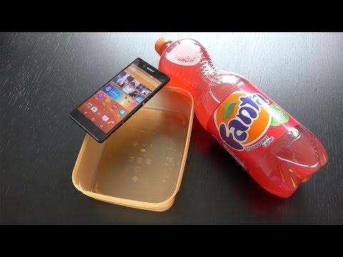 Sony Xperia Z3+ Fanta Freeze Test! Will It Survive? (4K)