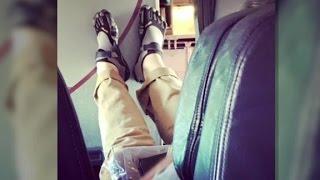Kicking: the worst airplane behavior