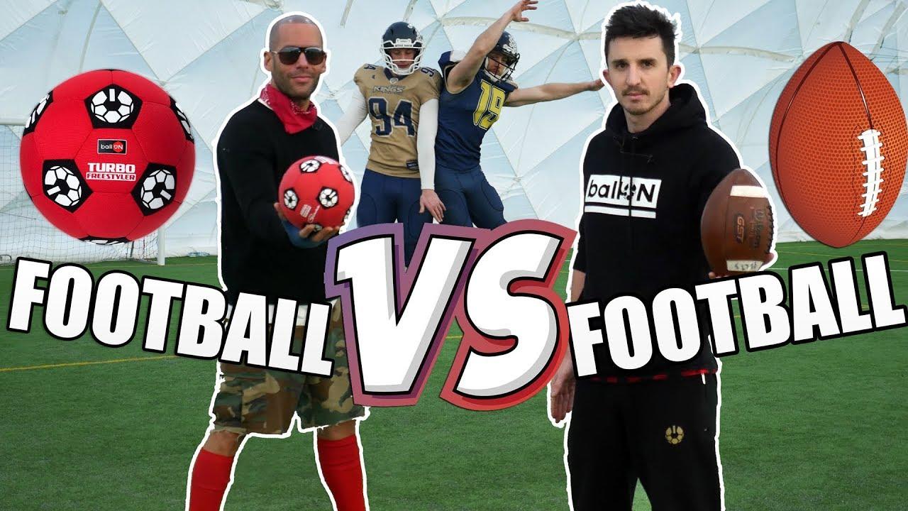 SYLWESTROWE STARCIE GIGANTÓW – FOOTBALL vs FOOTBALL!