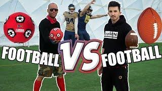 SYLWESTROWE STARCIE GIGANTÓW - FOOTBALL vs FOOTBALL!