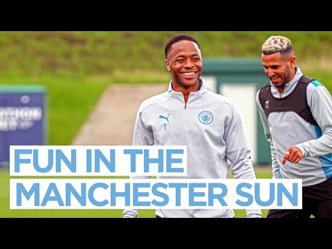 The sun is out, the fun is out |  POST NORWICH TRAINING