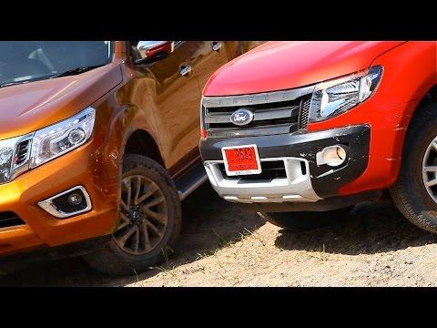 [Teaser] 2014 Nissan NP300 Navara VS. Ford Ranger 3.2 : นาวารา ใหม่ ปะทะ เรนเจอร์ ตัวท็อป