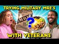 Veterans Eat Military Meals MREs With Civilians | People Vs. Food