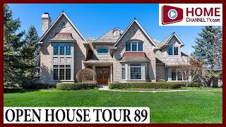 Open House Tour 89 - Custom Home at Tradition in St Charles IL