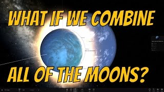 What If We Combine All The Moons in Our Solar System? Universe Sandbox² thumbnail