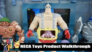 NECA Toys Product Walkthrough | New York Toy Fair 2020