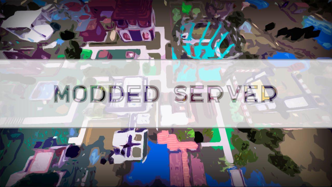 майнкрафт сервера с модами