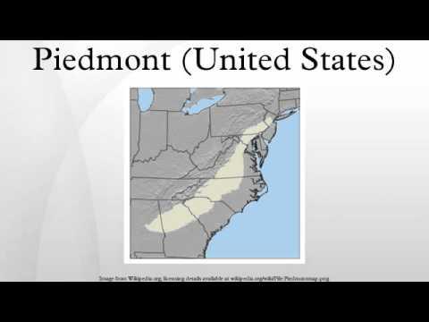 Piedmont (United States)