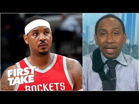 Too many scrubs in the NBA for Carmelo not to be on a team - Stephen A.   First Take
