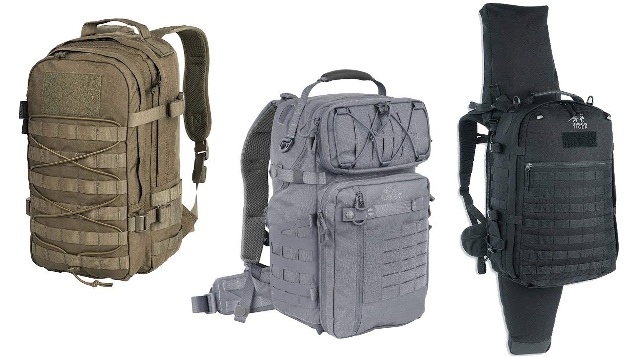TOP 5 TACTICAL BACKPACKS YOU Must See - Best Travel Backpacks On Amazon.