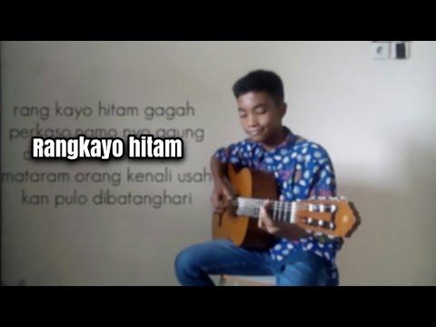 RANG KAYO HITAM fingerstyle gitar cover