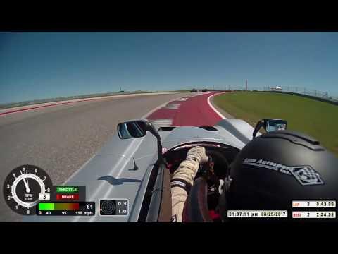 Bobby Sak 2017 COTA Super Tour SCCA Majors Saturday Spec Racer Ford Gen 3 SRF Circuit of the America