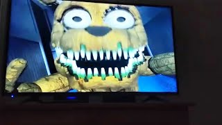 Jumpscares from FNAF on TV